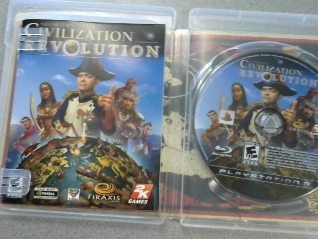 SONY Sony PlayStation 3 Game SID MEIER'S CIVILIZATION REVOLUTION