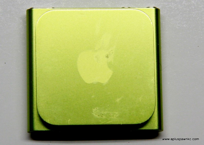 APPLE IPOD MC690LL 8GB 6TH GEN, GREEN
