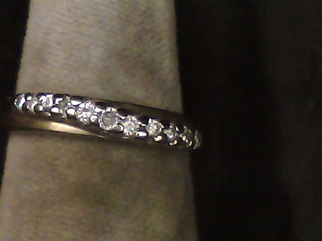 Lady's Diamond Fashion Ring 11 Diamonds .090 Carat T.W. 10K Yellow Gold 1.2dwt