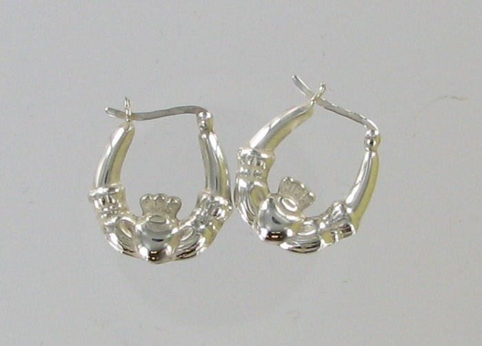 Silver Earrings 925 Silver 1.1dwt