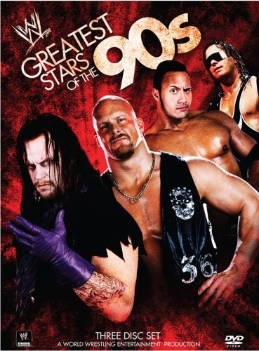 WWE Greatest Stars of the 90's: 3-Disc DVD Set