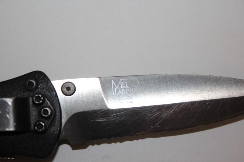 """BENCHMADE POCKET KNIFE 3"""" BLADE"""