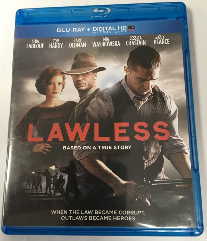 """LAWLESS"" BLU-RAY MOVIE (2014) STARRING SHIA LABEOUF"