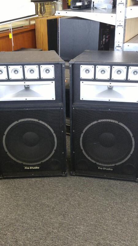 PRO STUDIO PA Speakers/Subwoofer PS81 15""
