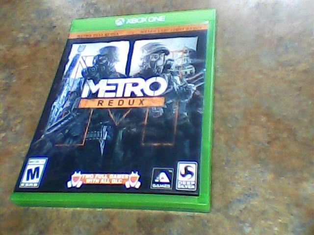 MICROSOFT Microsoft XBOX One Game METRO REDUX XBOX ONE