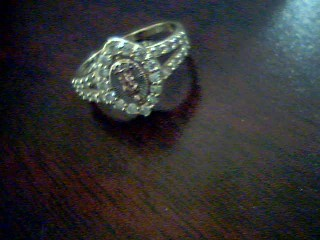 Lady's Gold Ring 14K Yellow Gold 2.3g Size:7