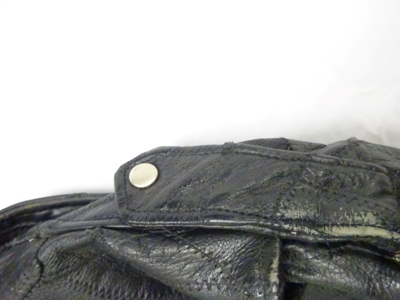 Coat/Jacket BLACK LEATHER JACKET