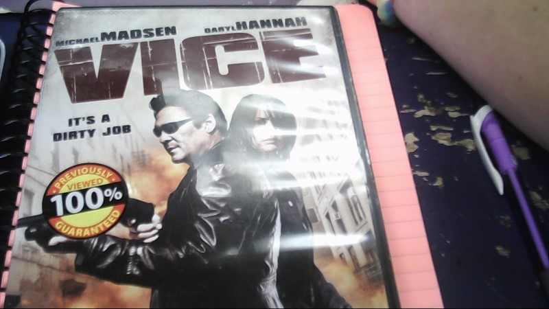 VICE DVD
