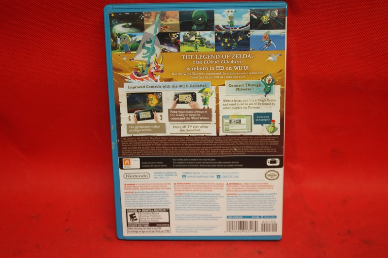 The Legend of Zelda: The Wind Waker HD (Nintendo Wii U, 2013