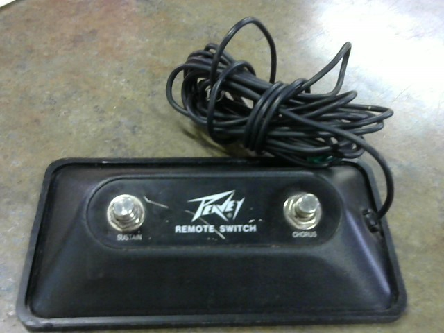PEAVEY Effect Equipment REMOTE SWITCH