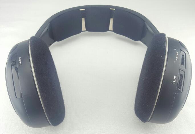SENNHEISER RS 120 Wireless RF On-Ear Headphones Black