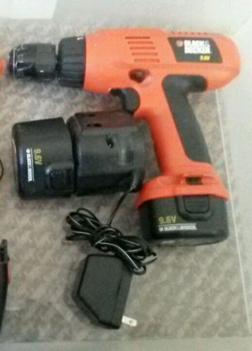 BLACK&DECKER Cordless Drill CD9600