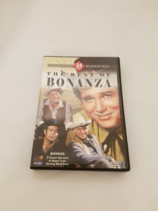 The Best of Bonanza: 34 Episodes 4 DVD Set