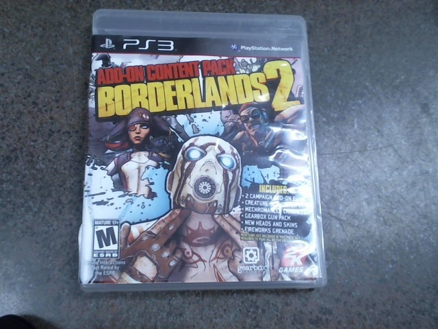 SONY Sony PlayStation 3 Game BORDERLANDS 2 ADD-ON CONTENT PACK