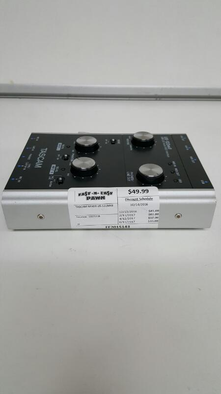 Tascam US-122MKII PC USB Audio Interface