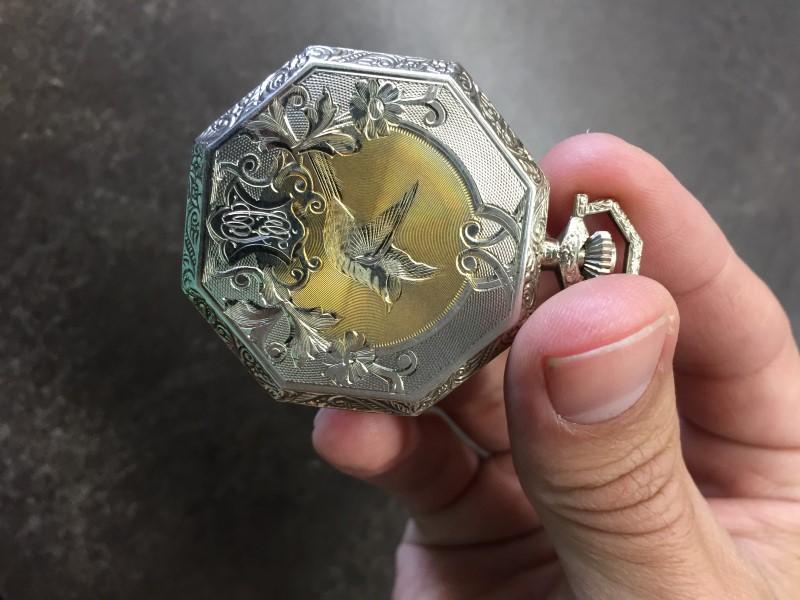 WALTHAM Pocket Watch 17 JEWEL POCKET WATCH