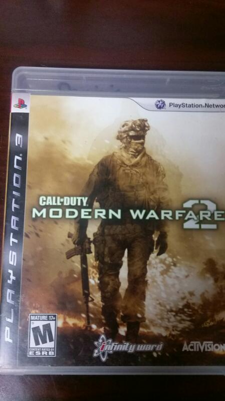 SONY PLAYSTATION 3 CALL OF DUTY MODERN WARFARE 2 VIDEO GAME