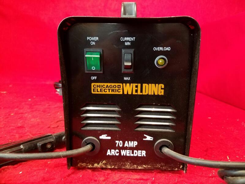 Chicago Electric 70 Amp Arc Welder 68888