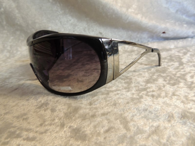 HARLEY DAVIDSON SUNGLASSES HDS 513/BLK-35 BLACK FRAME GRADIENT LENS AUTHENTIC