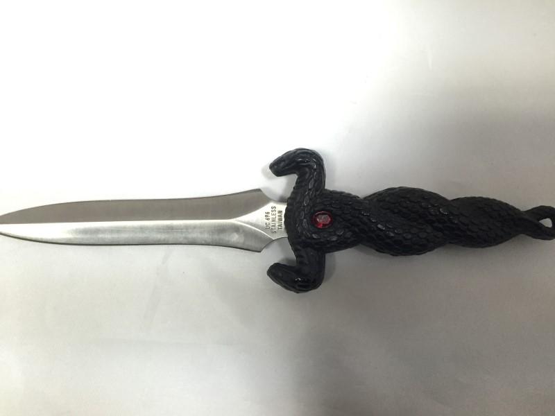 UNITED CUTLERY Combat Knife BLACK COBRA