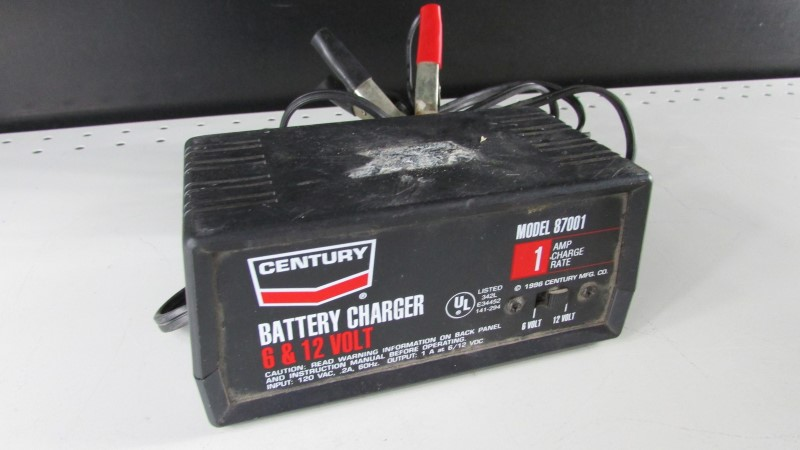 CENTURY Battery/Charger 87001