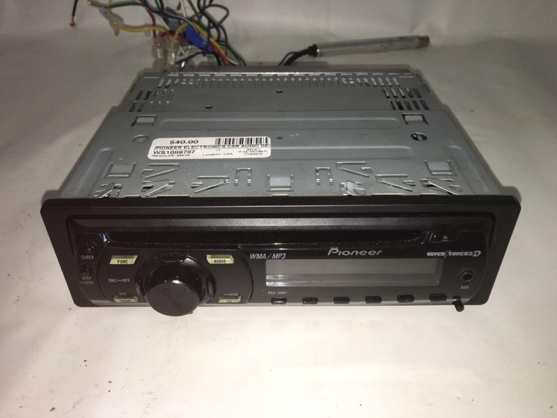 PIONEER ELECTRONICS Car Audio DEH-P3100UB