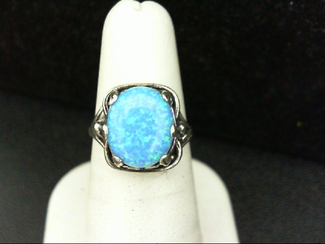 Lady's Silver Ring 925 Silver 4.8g