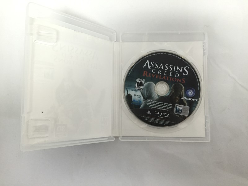 SONY PS3: ASSASSINS CREED REVELATIONS PLAYSTATION 3