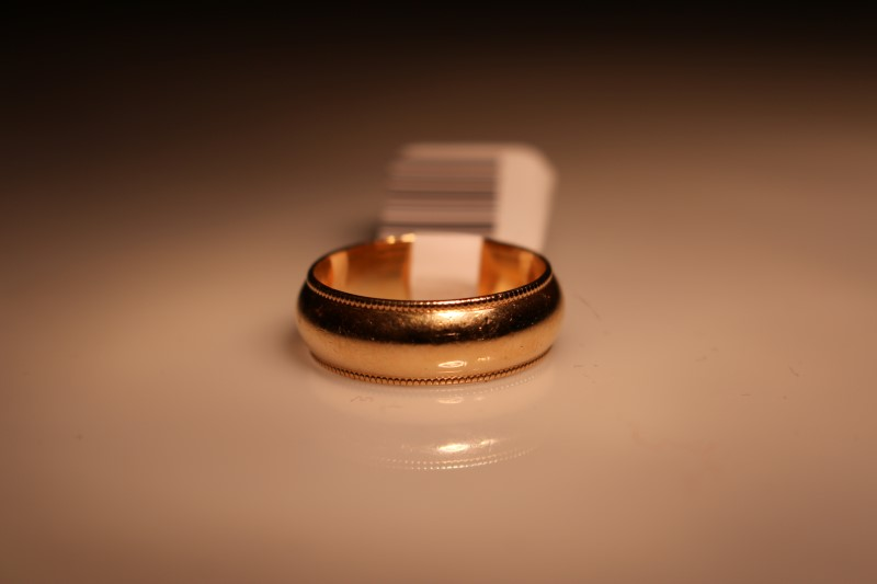Gent's Gold Ring 14K Yellow Gold 4.35g