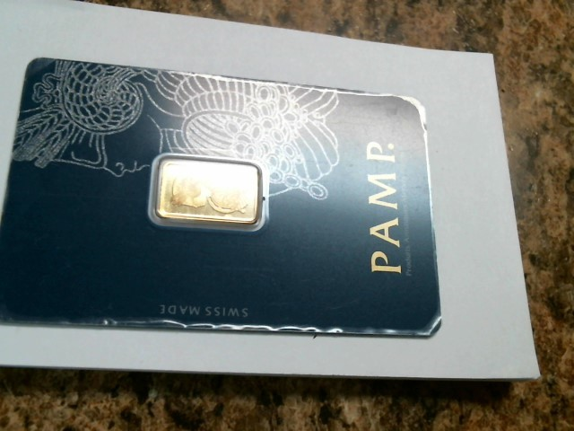 PAMP SUISSE Gold Bullion 2.5G GOLD BAR