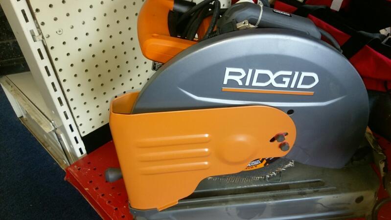 RIDGID TOOLS RADIAL/CHOP SAW MODEL R41421