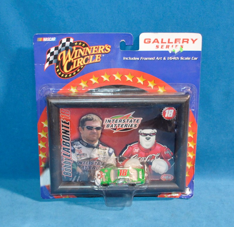 WINNERS CIRCLE Toy Vehicle Bobby Labonte #18 NASCAR Gallery Series Diecast Car