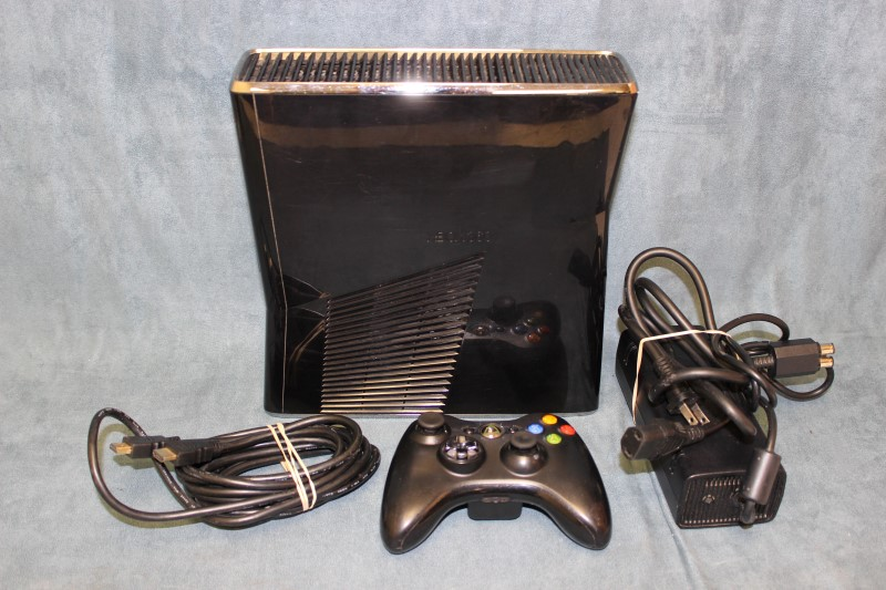 Microsoft Xbox 360 S 250GB, Black - Model # 1439