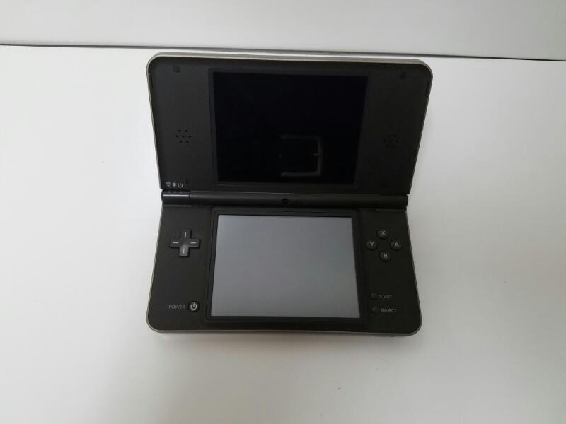 NINTENDO DSI XL HANDHELD GAME CONSOLE GRAY CHARCOAL