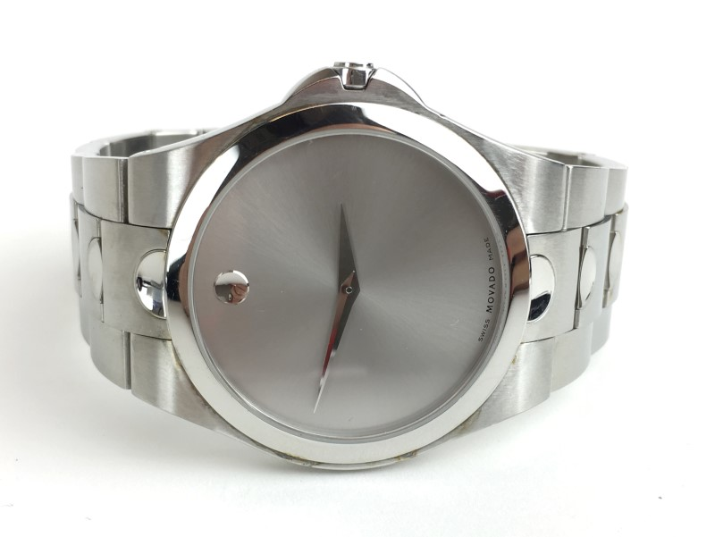 MOVADO Gent's Stainless Steel 84 E7 1850 LUNO SPORT Watch
