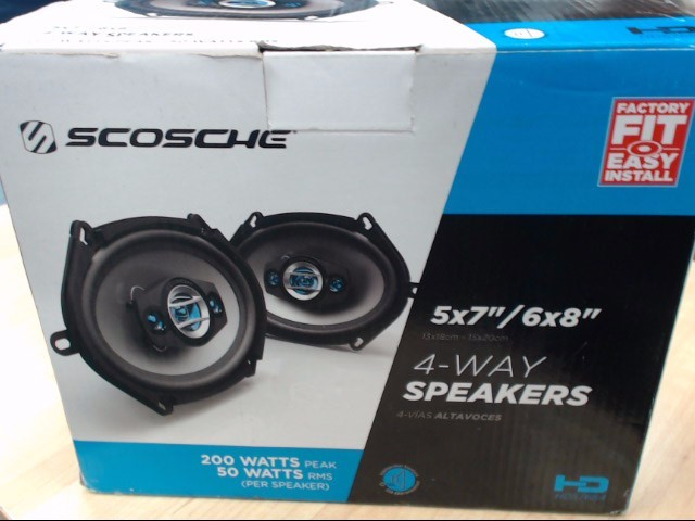 SCOSCHE Car Speakers/Speaker System HD57684