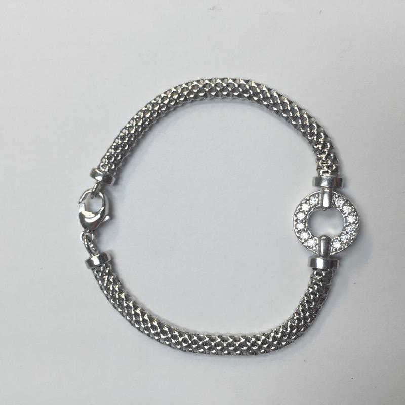 Silver Fashion Bracelet 925 Silver 3.2dwt