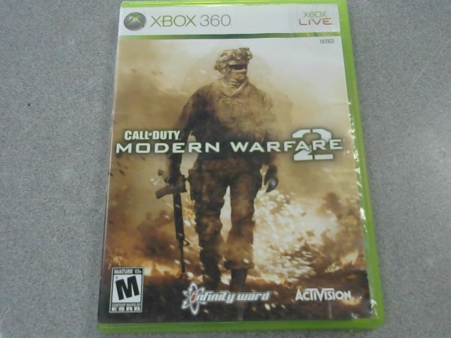MICROSOFT Microsoft XBOX 360 Game CALL OF DUTY MODERN WARFARE 2 - XBOX 360
