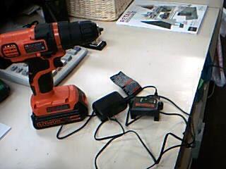 "BLACK & DECKER LDX-120 20V 3/8"" Cordless Drill"