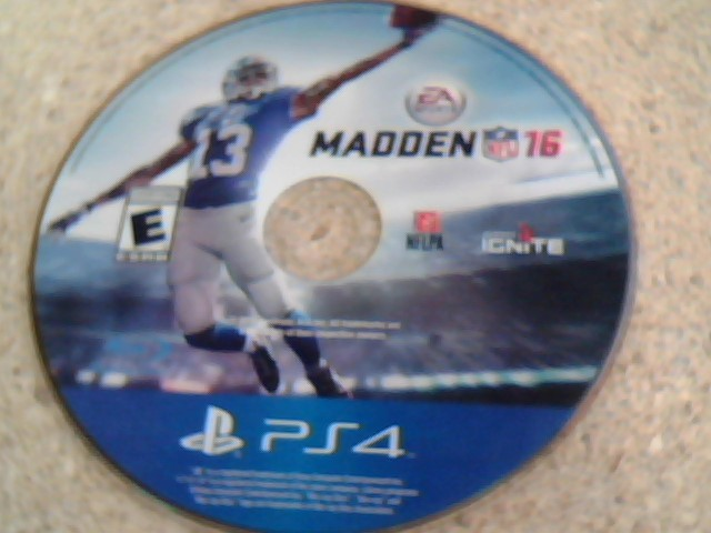 MADDEN NFL 16 - PS4 GAME