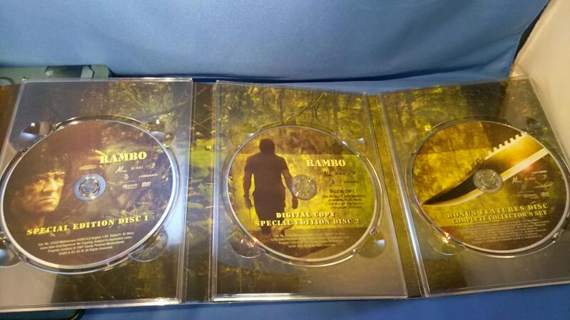 STALLONE RAMBO THE COMPLETE COLLECTOR'S SET