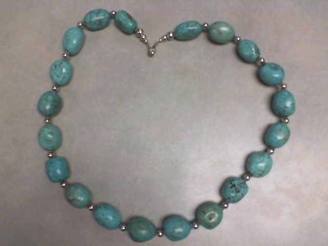 STABALIZED TURQUOISE NECKLACE