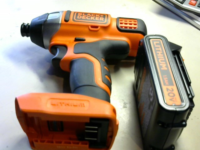 BLACK&DECKER Cordless Drill LBXR20