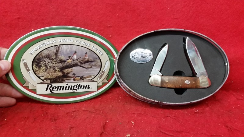 Remington Sportsman Series 2-Blade Folding Knife