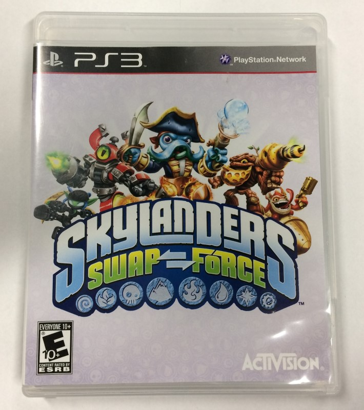 Skylanders Swap Force (Sony PS3 Playstation 3, 2013) GAME ONLY!!!