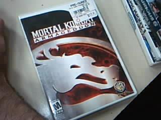 NINTENDO Nintendo Wii Game MORTAL KOMBAT: ARMAGEDDON