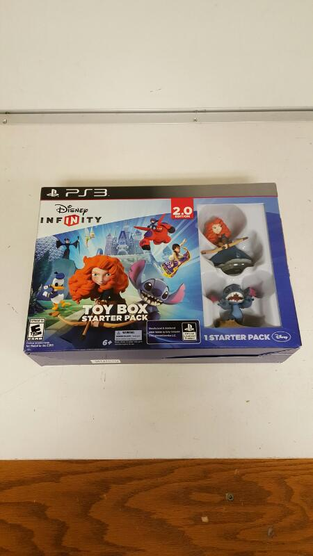 Disney Infinity 2.0: Toy Box Starter Pack (Sony Playstation 3, 2014) PS3 NEW