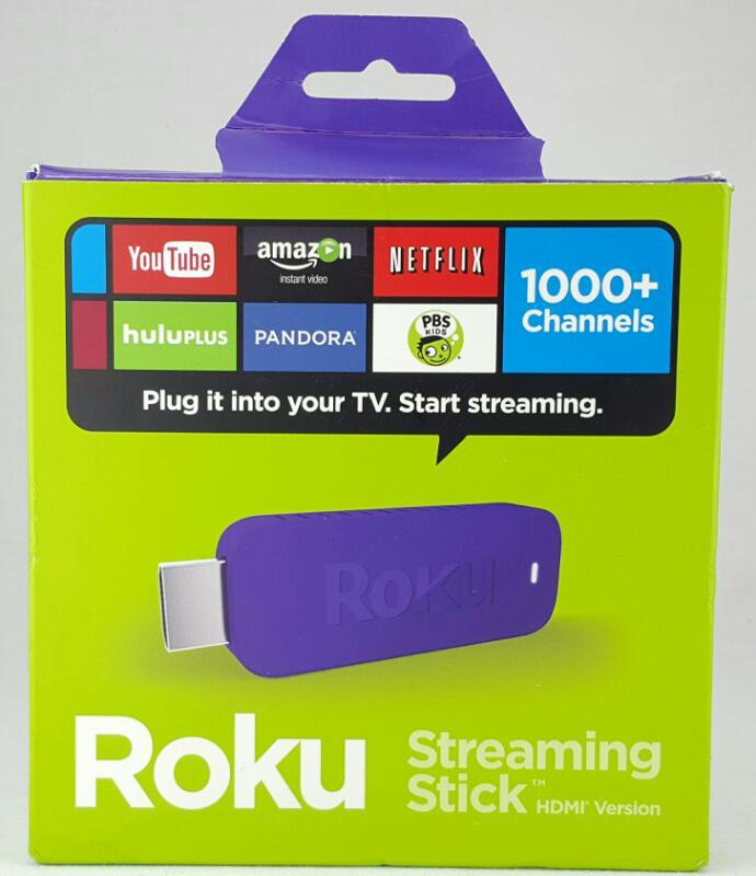 ROKU 3500RW HDMI STREAMING STICK W/BOX