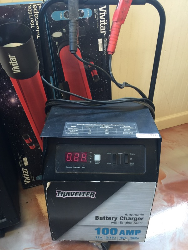Battery/Charger AUTOMATIC BATTERY CHARGER