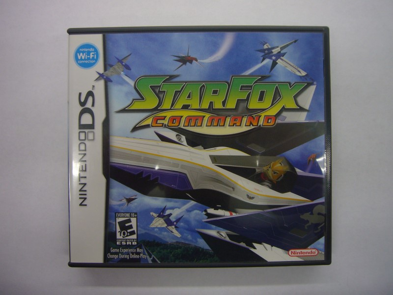 NINTENDO DS Game STARFOX COMMAND
